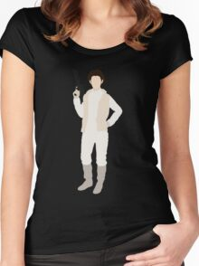 Leia 1 Women's Fitted Scoop T-Shirt