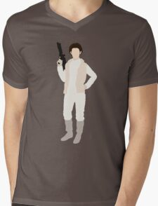 Leia 1 Mens V-Neck T-Shirt