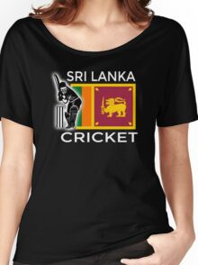 Sri Lanka Cricket Women's Relaxed Fit T-Shirt