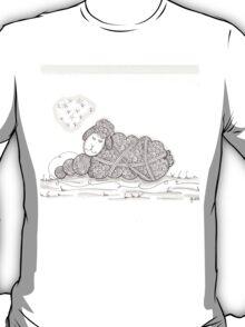 Tangled Sleepy Sheep T-Shirt