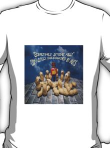 Surrounded by nuts - male T-Shirt