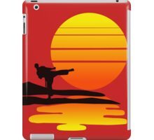 Karate at Sunset iPad Case/Skin