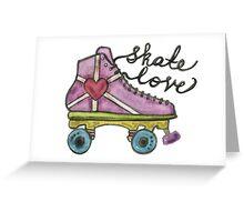 Skate Love Greeting Card