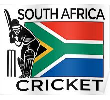 South Africa Cricket Poster