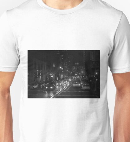 San Francisco Night I BW  Unisex T-Shirt