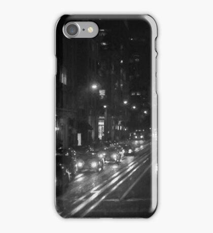 San Francisco Night I BW  iPhone Case/Skin