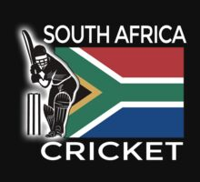 South Africa Cricket Kids Tee