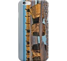 Walcott Beach and reflections iPhone Case/Skin