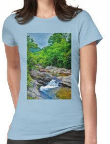 Nature Landscape  Womens Fitted T-Shirt