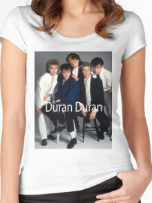 Duran Duran Vintage Women's Fitted Scoop T-Shirt