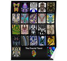 The Fractal Tarot Poster Poster