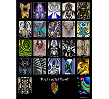 The Fractal Tarot Poster Photographic Print