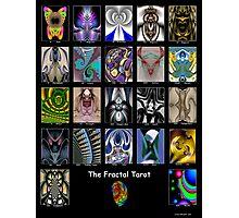 The Fractal Tarot Poster Photographic Print