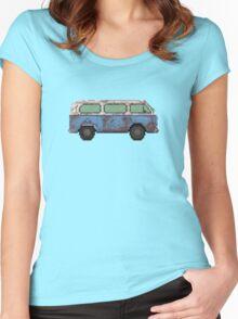 Dharma van Women's Fitted Scoop T-Shirt