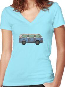 Dharma van Women's Fitted V-Neck T-Shirt