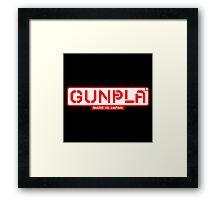 Gunpla Builder Framed Print