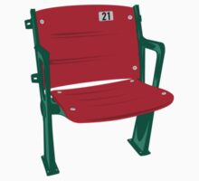 The Lone Red Seat - Red Sox - Fenway Park Baby Tee