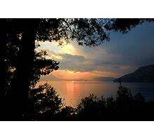 Maratea Sunset Photographic Print