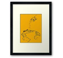 The Salting of the Earth Framed Print