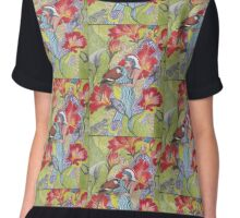 Bird Lady Chiffon Top