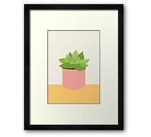 Succulent Saturday Framed Print