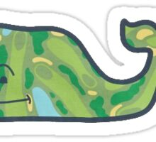 Vineyard Vines Golf Course Sticker
