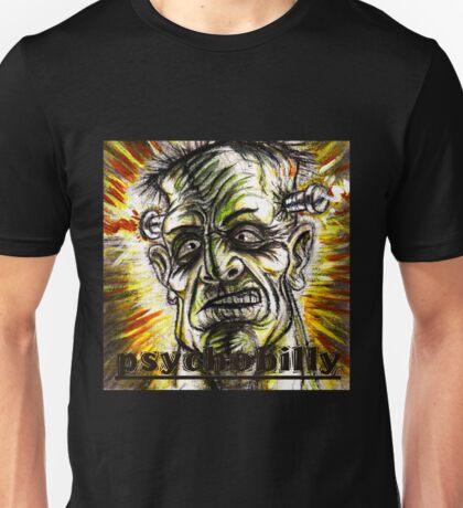 psychobilly frankenstiein Unisex T-Shirt