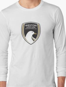 Weston-Super-Mare FC New Badge Long Sleeve T-Shirt