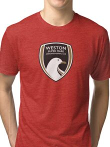 Weston-Super-Mare FC New Badge Tri-blend T-Shirt