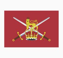 British Army Flag T-Shirt - United Kingdom Reserve Force Sticker Kids Tee