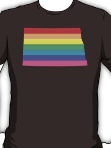 rainbow north dakota T-Shirt
