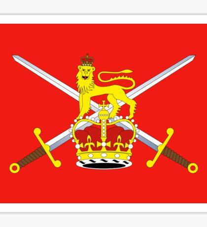 British Army Flag T-Shirt - United Kingdom Reserve Force Sticker Sticker