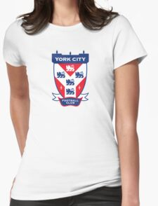 York City FC Badge Womens Fitted T-Shirt