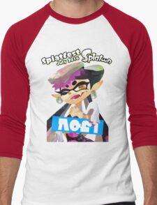 Splatfest Team Callie v.3 Men's Baseball ¾ T-Shirt