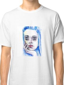 Double eyed girl Classic T-Shirt