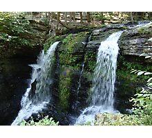 Beautiful waterfall in Pennsylvania Photographic Print