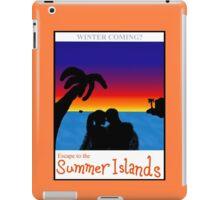 Summer Islands Tourism iPad Case/Skin