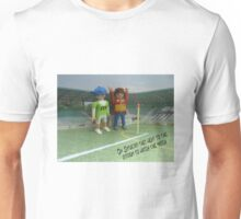 Watching the match Unisex T-Shirt