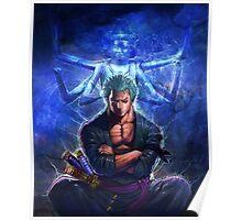 zoro ashura Poster