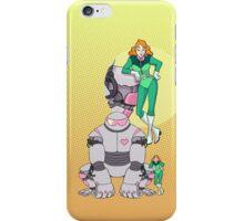 Ness Valentine & Her Robot, Butch iPhone Case/Skin