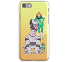 Ness Valentine & Her Robot, Butch iPhone Case/Skin