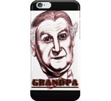 grandpa vampire iPhone Case/Skin