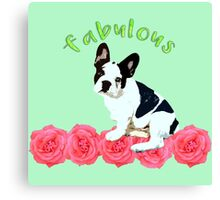 Fabulous Bulldog Canvas Print