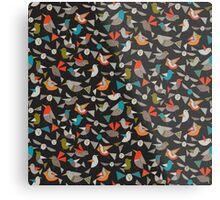 just birds dark Metal Print