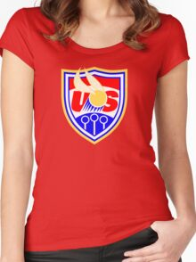 US Quidditch - World Cup 2014 Women's Fitted Scoop T-Shirt