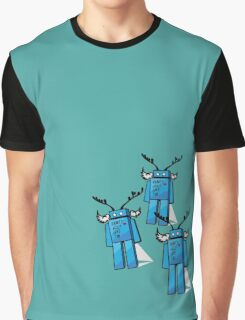 Robots Need Love Two Graphic T-Shirt