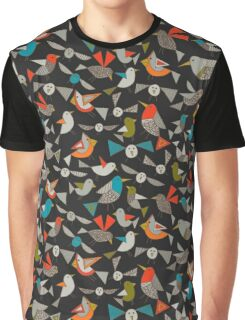 just birds dark Graphic T-Shirt