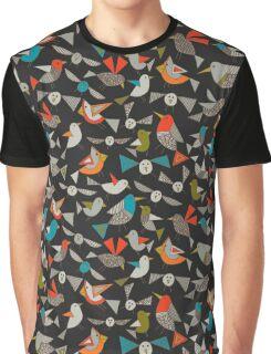 just birds dark Graphic T-Shirt