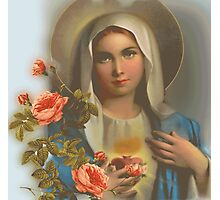 Madonna of May Photographic Print