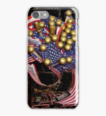 Flags In The Store iPhone Case/Skin